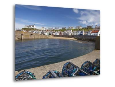 Harbour, Findochty, Moray, Scotland-David Wall-Metal Print