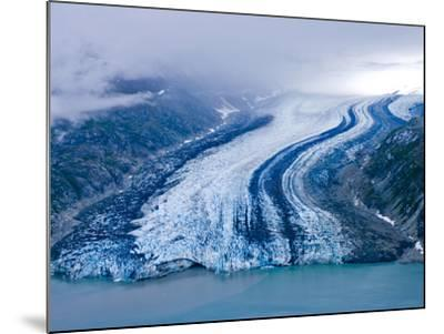 Lamplugh Glacier, Glacier Bay National Park, Alaska, Pacific Northwest, Usa-Jerry Ginsberg-Mounted Photographic Print