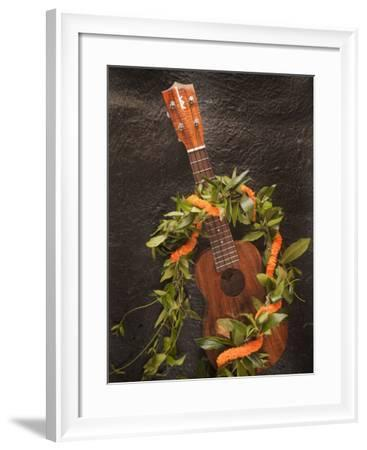Ukulele, Hawaii-Douglas Peebles-Framed Photographic Print