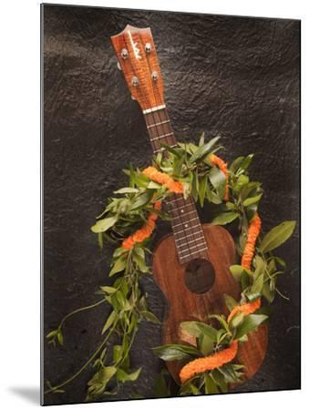 Ukulele, Hawaii-Douglas Peebles-Mounted Photographic Print