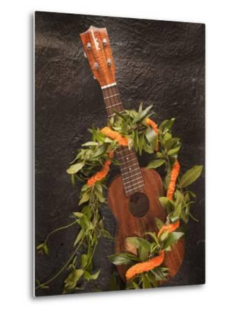 Ukulele, Hawaii-Douglas Peebles-Metal Print