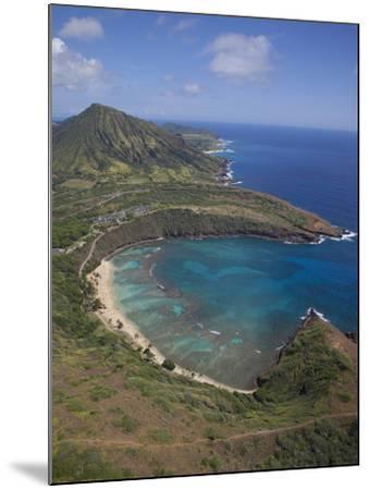 Hanauma Bay, Oahu, Hawaii-Douglas Peebles-Mounted Photographic Print