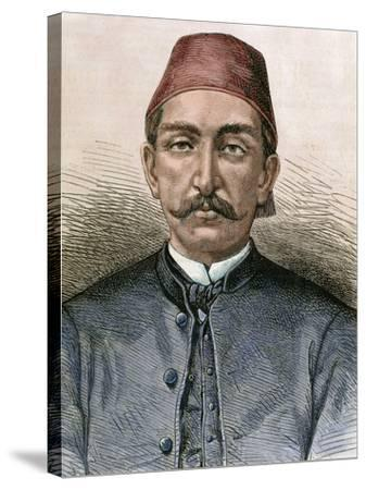 Abdul Hamid Ii (1842-1918). Sultan of the Ottoman Empire (1876-1909)-Prisma Archivo-Stretched Canvas Print