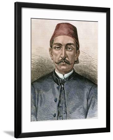 Abdul Hamid Ii (1842-1918). Sultan of the Ottoman Empire (1876-1909)-Prisma Archivo-Framed Photographic Print