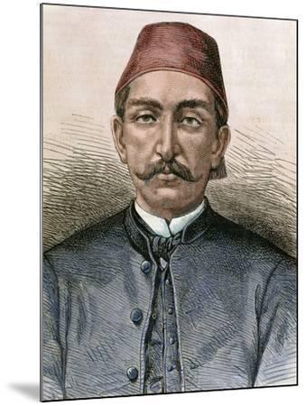 Abdul Hamid Ii (1842-1918). Sultan of the Ottoman Empire (1876-1909)-Prisma Archivo-Mounted Photographic Print