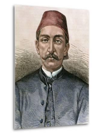 Abdul Hamid Ii (1842-1918). Sultan of the Ottoman Empire (1876-1909)-Prisma Archivo-Metal Print