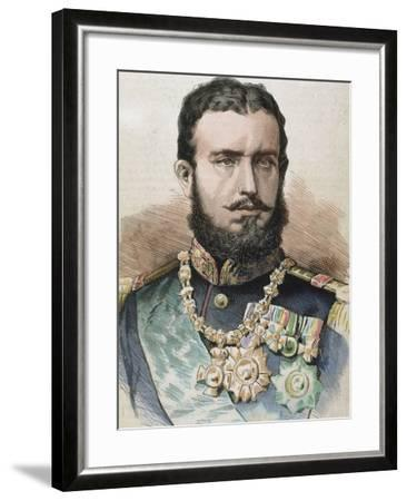 Prince (1866-81) and King of Romania (1881-1914) by A. Carretero-Prisma Archivo-Framed Photographic Print