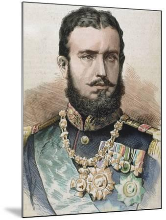 Prince (1866-81) and King of Romania (1881-1914) by A. Carretero-Prisma Archivo-Mounted Photographic Print
