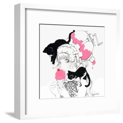 Cherry Jubilee-Camilla D'Errico-Framed Art Print