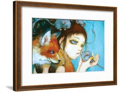 Frenemies-Camilla D'Errico-Framed Art Print