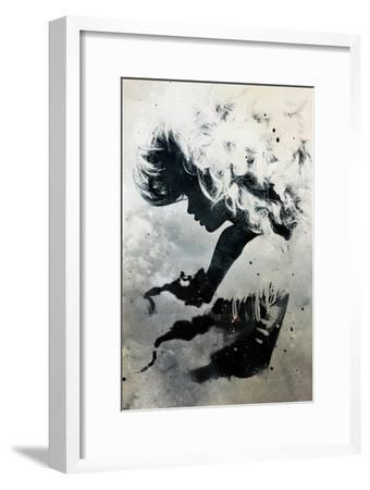Black Cloud-Alex Cherry-Framed Art Print