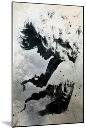 Black Cloud-Alex Cherry-Mounted Art Print