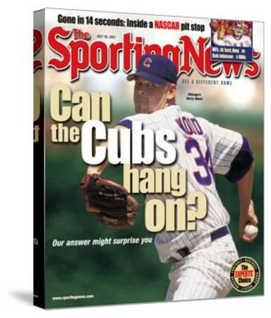 Chicago Cubs P Kerry Wood - July 30, 2001--Stretched Canvas Print