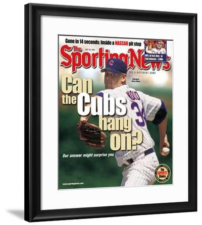 Chicago Cubs P Kerry Wood - July 30, 2001--Framed Photo