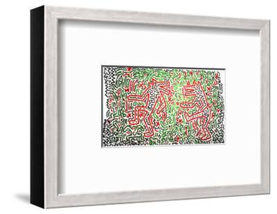 Untitled, 1981-Keith Haring-Framed Giclee Print