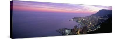 Monte Carlo, Monaco, Cote D'Azur, Mediterranean, Europe-Sergio Pitamitz-Stretched Canvas Print