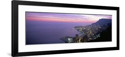 Monte Carlo, Monaco, Cote D'Azur, Mediterranean, Europe-Sergio Pitamitz-Framed Photographic Print
