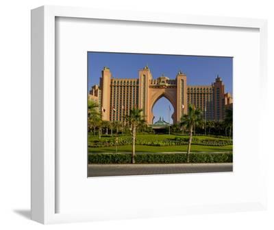 Atlantis Hotel, Dubai, United Arab Emirates, Middle East-Charles Bowman-Framed Photographic Print