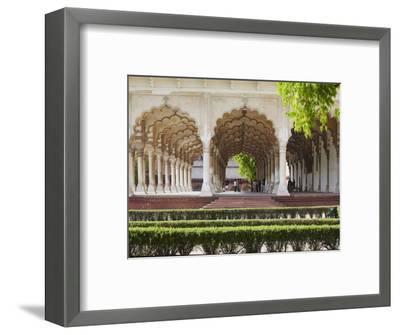 Diwan-I-Am (Hall of Public Audiences) in Agra Fort, Agra, Uttar Pradesh, India-Ian Trower-Framed Photographic Print