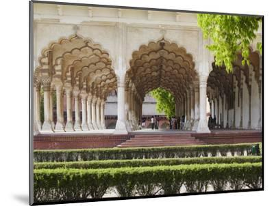 Diwan-I-Am (Hall of Public Audiences) in Agra Fort, Agra, Uttar Pradesh, India-Ian Trower-Mounted Photographic Print