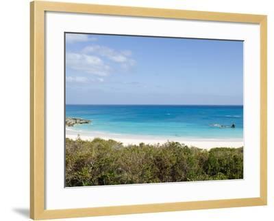 Horseshoe Bay Beach, Bermuda, Central America-Michael DeFreitas-Framed Photographic Print
