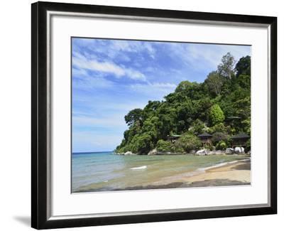 Salang Beach, Pulau Tioman (Tioman Island), Pahang, Malaysia, Southeast Asia, Asia-Jochen Schlenker-Framed Photographic Print