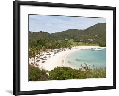 Canouan Resort at Carenage Bay, Canouan Island, St. Vincent and the Grenadines, Windward Islands-Michael DeFreitas-Framed Photographic Print