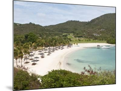 Canouan Resort at Carenage Bay, Canouan Island, St. Vincent and the Grenadines, Windward Islands-Michael DeFreitas-Mounted Photographic Print