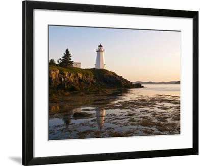 Letite Passage Lighthouse (Green's Point Lightstation), New Brunswick, Canada, North America-Michael DeFreitas-Framed Photographic Print