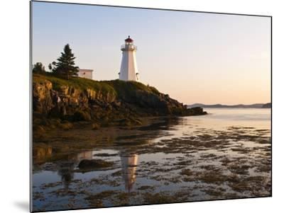 Letite Passage Lighthouse (Green's Point Lightstation), New Brunswick, Canada, North America-Michael DeFreitas-Mounted Photographic Print