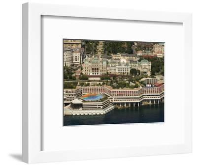 View From Helicopter of the Casino, Monte Carlo, Monaco, Cote D'Azur, Europe-Sergio Pitamitz-Framed Photographic Print