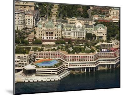 View From Helicopter of the Casino, Monte Carlo, Monaco, Cote D'Azur, Europe-Sergio Pitamitz-Mounted Photographic Print
