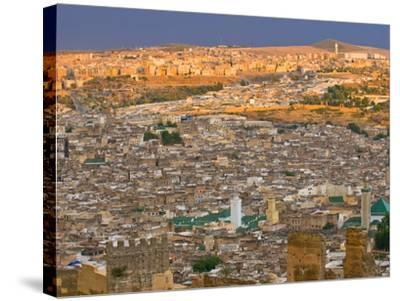 Old Medina of Fez, UNESCO World Heritage Site, Morocco, North Africa, Africa-Michael Runkel-Stretched Canvas Print