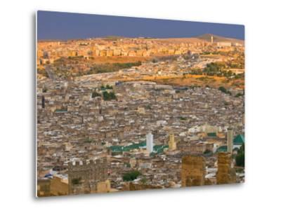 Old Medina of Fez, UNESCO World Heritage Site, Morocco, North Africa, Africa-Michael Runkel-Metal Print