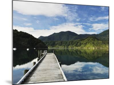 Penzance Bay, Tennyson Inlet, Marlborough Sounds, Marlborough, South Island, New Zealand, Pacific-Jochen Schlenker-Mounted Photographic Print