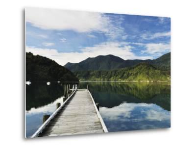 Penzance Bay, Tennyson Inlet, Marlborough Sounds, Marlborough, South Island, New Zealand, Pacific-Jochen Schlenker-Metal Print
