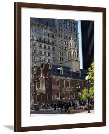 Old State House, Boston, Massachusetts, New England, USA--Framed Photographic Print