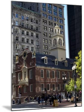 Old State House, Boston, Massachusetts, New England, USA--Mounted Photographic Print