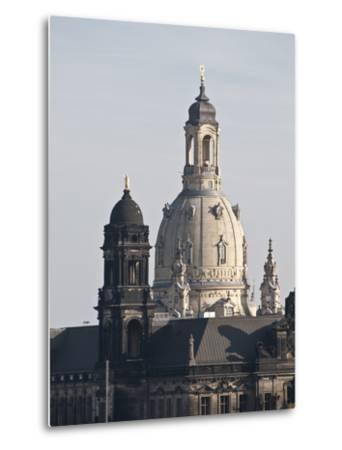Dresden, Saxony, Germany, Europe-Michael Snell-Metal Print