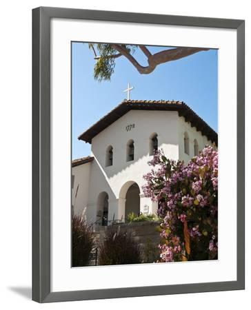 Old Mission San Luis Obispo De Tolosa, San Luis Obispo, California, USA-Michael DeFreitas-Framed Photographic Print