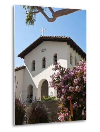 Old Mission San Luis Obispo De Tolosa, San Luis Obispo, California, USA-Michael DeFreitas-Metal Print