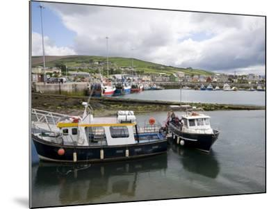 Dingle Harbour With Fishing Boats, Dingle, County Kerry, Munster, Republic of Ireland, Europe--Mounted Photographic Print