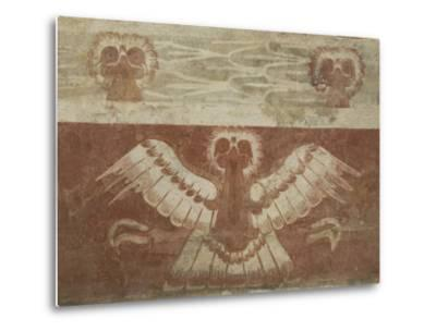 Mural in the Palace of Tetitla, Believed to Represent An Eagle, Arch. Zone of Teotihuacan, Mexico-Richard Maschmeyer-Metal Print