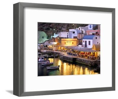 Oia (Ia), Island of Santorini (Thira), Cyclades Islands, Aegean, Greek Islands, Greece, Europe-Sergio Pitamitz-Framed Photographic Print