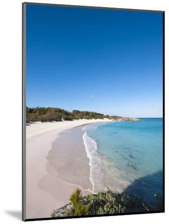 Horseshoe Bay Beach, Bermuda, Central America-Michael DeFreitas-Mounted Photographic Print