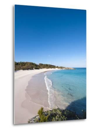 Horseshoe Bay Beach, Bermuda, Central America-Michael DeFreitas-Metal Print