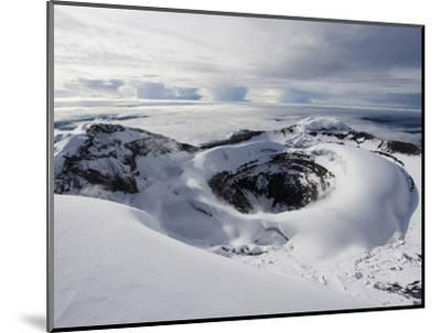 Summit Crater, Volcan Cotopaxi, 5897M, the Highest Active Volcano in the World, Ecuador-Christian Kober-Mounted Premium Photographic Print