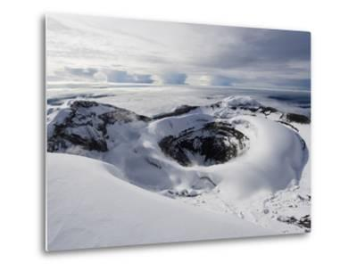 Summit Crater, Volcan Cotopaxi, 5897M, the Highest Active Volcano in the World, Ecuador-Christian Kober-Metal Print