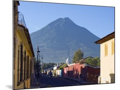 Volcan De Agua, 3765M, Antigua, Guatemala, Central America-Christian Kober-Mounted Photographic Print