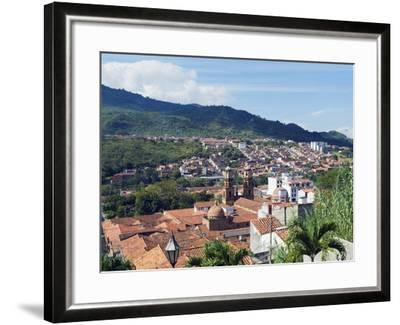 View Over San Gil, Colombia, South America-Christian Kober-Framed Photographic Print